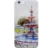 Fountain at Victoria Park, Forbes iPhone Case/Skin