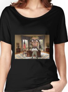 Trump Nerdy Women's Relaxed Fit T-Shirt