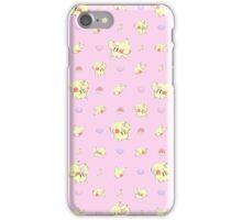 Pika Pastel Poke-Pattern iPhone Case/Skin