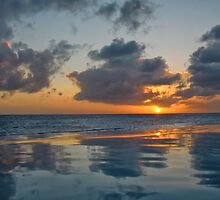 Caribbean Sunset by Kasia-D