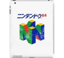 Japanese Nintendo 64 iPad Case/Skin
