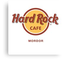Hard Rock Cafe Mordor Lord of the Rings Canvas Print