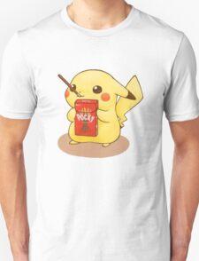 Pikachu Pocky Unisex T-Shirt