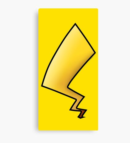 Pikachu Tail Canvas Print