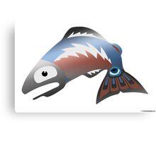 Salmon Dreams Canvas Print