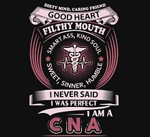 I Was Perfect I Am A CNA T-shirt Womens Fitted T-Shirt