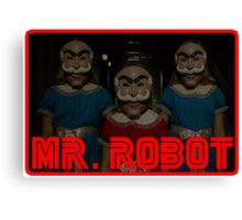 Mr Robot's Shining Delusion Canvas Print