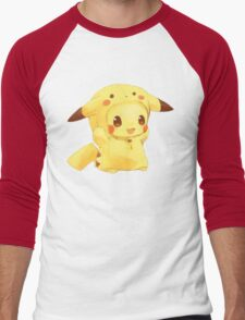 Baby Pikachu Men's Baseball ¾ T-Shirt