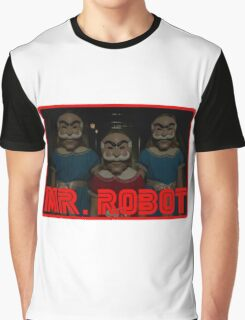 Mr Robot's Shining Delusion Graphic T-Shirt