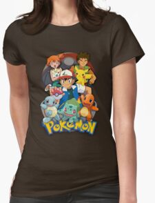 Pokemon Indigo Gang Womens Fitted T-Shirt