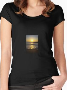 Pure Sunset Women's Fitted Scoop T-Shirt