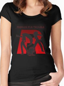 Pokemon - Team Rocket Women's Fitted Scoop T-Shirt