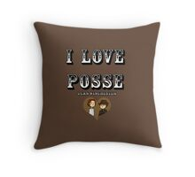 I Love Posse - Supernatural Dean Quote Throw Pillow