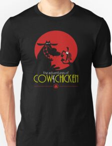 The adventures of Cow and Chicken 2 Unisex T-Shirt