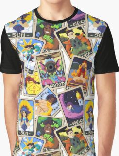 Tarot Mess Graphic T-Shirt