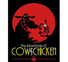 The adventures of Cow and Chicken 2 Photographic Print