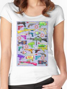 Vintage Toy Guns Women's Fitted Scoop T-Shirt