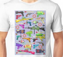 Vintage Toy Guns Unisex T-Shirt