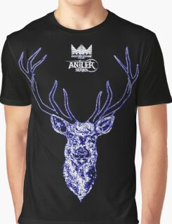 Antler Series 0004 - Malicemalignant clothing Graphic T-Shirt