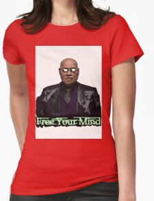 Free Your Mind - Morpheus Womens Fitted T-Shirt