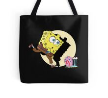 Sponge Tintin Tote Bag