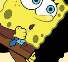 Sponge Tintin Sticker