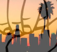 Shaka City Sundown  Sticker