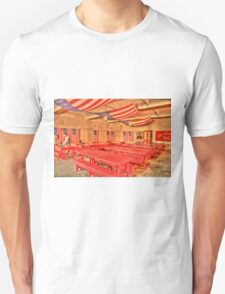 Dining Hall and Photographer Unisex T-Shirt