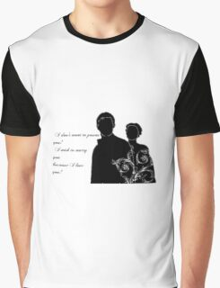 North and South Quote Graphic T-Shirt
