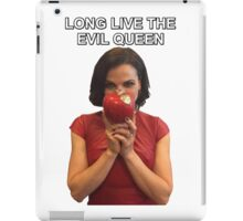 Long Live The Evil Queen - Lana Parrilla at San Diego Comic Con 2016 iPad Case/Skin