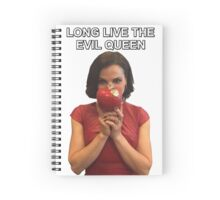 Long Live The Evil Queen - Lana Parrilla at San Diego Comic Con 2016 Spiral Notebook