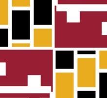 Maryland block flag Sticker