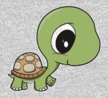 Cute Turtle One Piece - Long Sleeve
