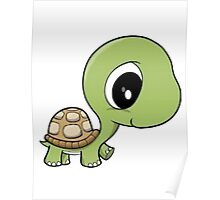 Cute Turtle Poster