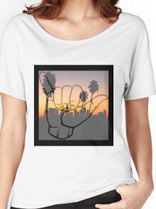 Shaka City Sundown  Women's Relaxed Fit T-Shirt