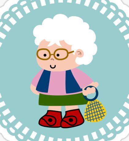 Granny Abuelita Sticker