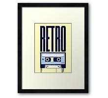 RETRO SOUND Framed Print