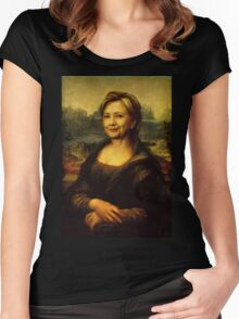Mona Clinton Women's Fitted Scoop T-Shirt