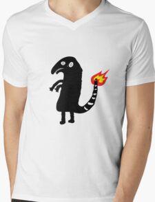 Charmander drunk tattoo Mens V-Neck T-Shirt