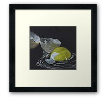Broken Egg Framed Print
