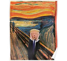 Screaming Donald Poster