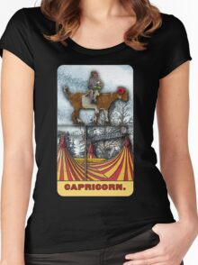Capricorn - from The Midway Arcana Women's Fitted Scoop T-Shirt