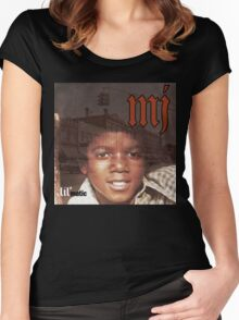 MJ - Lil' matic Women's Fitted Scoop T-Shirt
