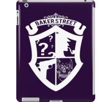 Baker Street White iPad Case/Skin