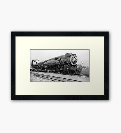 Southern Pacific SP 4303 Steam Locomotive Framed Print