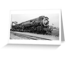 Southern Pacific SP 4303 Steam Locomotive Greeting Card