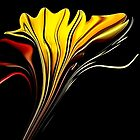 *Tiger Lily Abstract* by Darlene Lankford Honeycutt