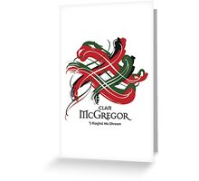 Clan McGregor  Greeting Card