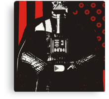 The Galactic Empire Strikes First Canvas Print