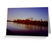 American river Greeting Card
